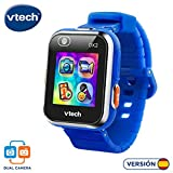 VTech 3480-193822 Kidizoom Smart Watch DX2 - Reloj inteligente para niños con doble cámara, color azul
