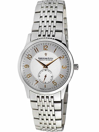 Dreyfuss and Co Mens Bracelet Watch DGB00001-22