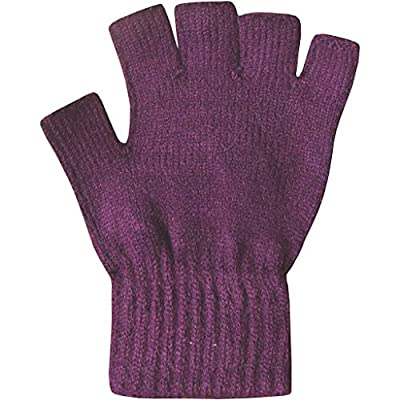Romano Fingerless Woolen Gloves for Women in 6 Colors