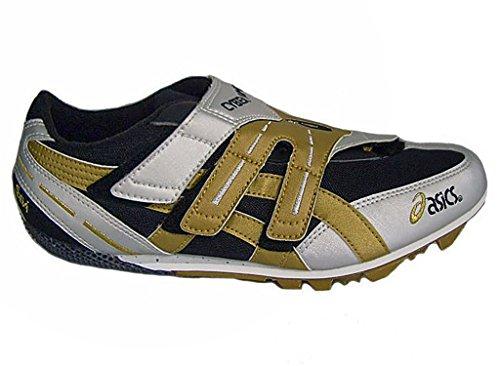 Asics , Chaussures d'athlétisme pour homme Multicolore - argento/bronzo/nero
