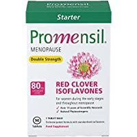 Promensil, Menopause, Red Clover, Isoflavones, Double Strength Starter 80mg - 90 Tablets (3 Month Supply)