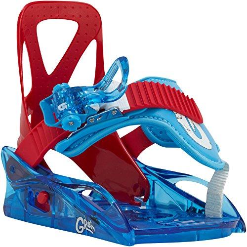 Burton Kinder Snowboardbindung rot S (Burton Kinder Snowboard Bindung)