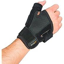 Muñequera ortopédica BraceUP con férula de pulgar, para túnel carpiano, artritis y esguinces