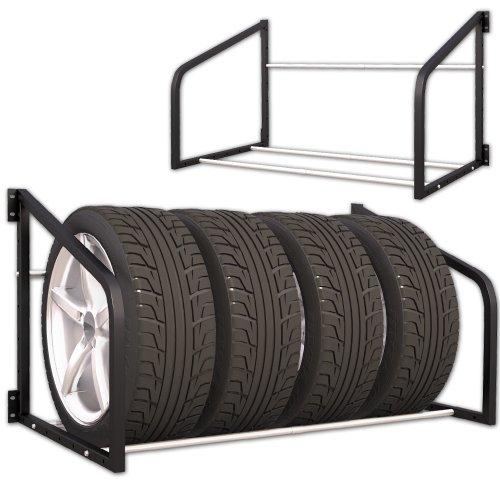 Reifenregal Wandregal Wandhalterung Reifenhalter Reifenständer