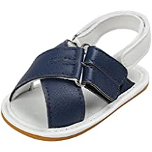 Zapatos de Bebé SMARTLADY 0~18 Niños Niña Bebe Primeros pasos Sandalias