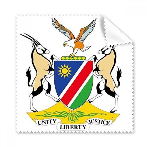 Der Republik Namibia Flagge National Emblem Afrika Land Gläser Tuch Reinigungstuch Geschenk Handy-Display von 5x Glas Land-glas