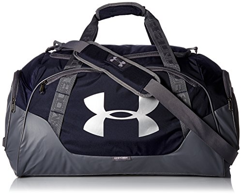 Under Armour Uni UA Undeniable Duffle 3.0 MD Sporttasche, Midnight Navy, 65 x 30 x 35 cm (Anzug Tragen Navy)