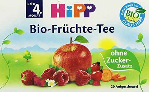 HiPP Bio-Früchte-Tee Beutel, 6er Pack (6 x 40 g) - 6-pack Bio-tees