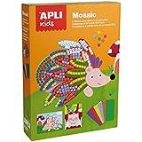 Apli apli14289caja de espuma de EVA animales mosaico Kit (2piezas)
