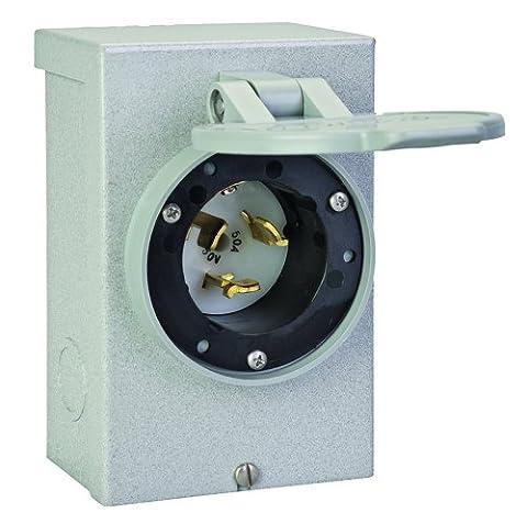 Reliance Controls PB50 50 Amp Generator Power Cord Inlet Box For Up To 12,500 Watt Generators Outdoor, Home, Garden, Supply,