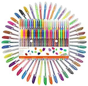 Bolígrafos de Gel, Incluye Brillo,