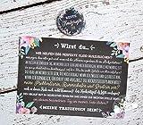 Trauzeugin fragen Geschenk Karte mit Button, Hochzeit Trauzeugen, Willst du meine Trauzeugin sein?