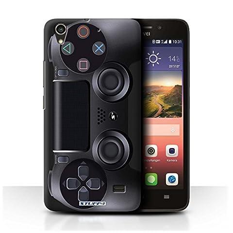 Coque de Stuff4 / Coque pour Huawei Ascend G620S / Playstation PS4 Design / Console (jeux vidéo) Collection