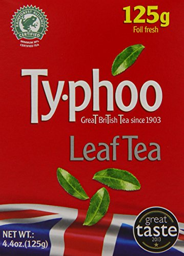A photograph of Typhoo