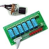 Electronics-Salon 6 Kanal unsymmetrischen Stereo oder Symmetrische Mono-Audio-Eingangs-Schalter Relais Modul.