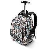 Karactermania Disney Classic Minnie Drawing-GT Travel Trolley Backpack Rucksack, 51 cm, 42 liters, Grau (Grey)