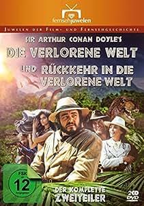 Die verlorene Welt + Rückkehr in die verlorene Welt (Sir Arthur Conan Doyle) - Fernsehjuwelen [2 DVDs]