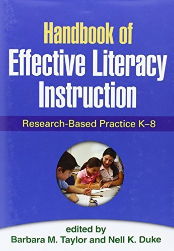 Handbook of Effective Literacy Instruction: Research-Based Practice K-8 by The Guilford Press (2013-03-08)