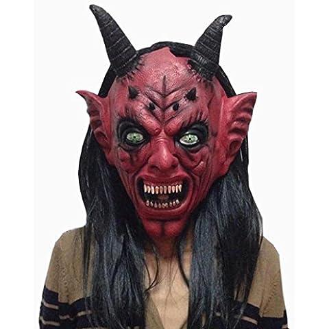 Regalo De Halloween, Oyedens Bloody Face Off Horror Máscara De Disfraces De Halloween