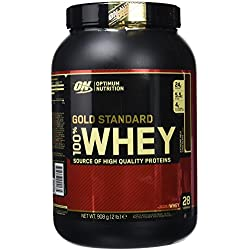 Optimum Nutrition Gold Standard 100% Whey Proteína en Polvo, Extremo Chocolate con leche - 908 g
