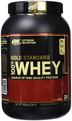 Optimum Nutrition Gold Standard 100% Whey Proteína en Polvo, Extremo Chocolate con...