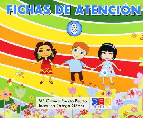 Fichas de atención, 2 Educación Primaria par Joaquina Ortega Gómez