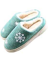 Zapatillas Mujer Invierno, Eagsouni® Mujer Hombres Otoño Invierno Zapatillas De Estar Por Casa Suave