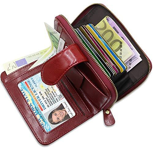 Nuestra Garantia      Esperamos que le guste nuestra cartera mujer rfid bloqueo, pero si usted no está 100% satisfecho o tiene alguna pregunta con esta billetera, por favor no dude en ponerse en contacto con nosotros por correo electrónico. L...