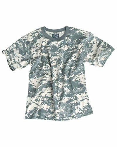 a696e439f0c34f Mil-Tec Bequemes Kinder T-Shirt US Army Style Shirt Outdoorshirt at-Digital