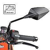 Motorrad Spiegel Puig RS1 Honda CBR 125 R 04-16 (Paar) Carbon Look