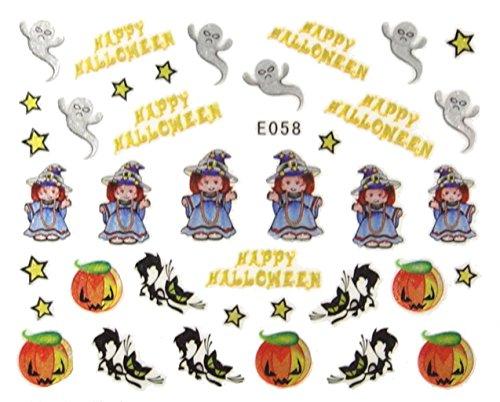 nail art , scrapbooking - Stickers autocollants Halloween
