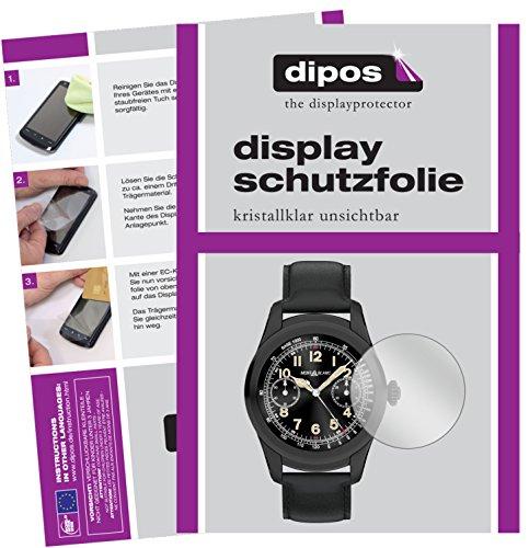 dipos I 6X Schutzfolie klar passend für Montblanc Summit Folie Bildschirmschutzfolie