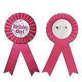 JJOnlineStore–Kinder Kinder Award Band Rosette Geburtstag Party Favor Happy Birthday Celebration Pin Badge Toys
