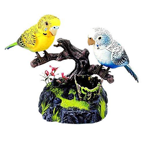 SOWOFA Parrot Toys Chirping Bird Live Simulazione di Color pappagalli Singing Electric Pet Giocattoli per Bambini Toddler decori