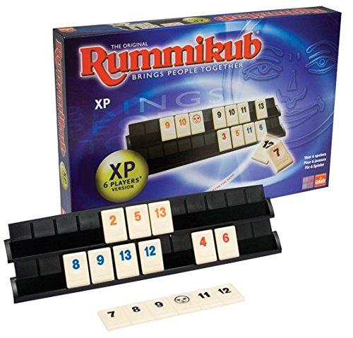 Goliath - RummiKub Deluxe, juego para 6 jugadores (50406106)