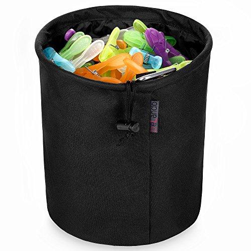 beLando XXL Family Premium Wäscheklammerbeutel | Klammerbeutel für bis zu 300 Kleine Oder 200 große Wäscheklammern | Reicht für Ganze Familie | Wäscheklammerkorb | Klammersack