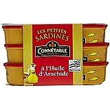Connétable Sardines à l'Huile d'Arachide 3 Boîtes de 55 g