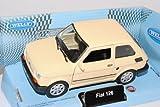 Welly Fiat 126 Beige 1972-2000 Polski Fiat ca 1/43 1/36-1/46 Modell Auto mit individiuellem Wunschkennzeichen