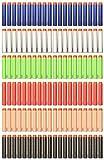 Yosoo Ricarica 120 Dardi Colorati per Nerf N-Strike Elite - 7,2 cm, 6 Colori / 20pz di Ogni Colori