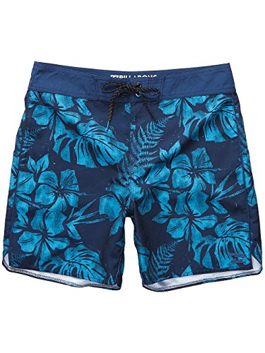 Herren Boardshorts Billabong All Day Floral Og 17 Boardshorts Navy