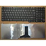 Teclado italiana negra Toshiba Satellite P300P305P305D L350L355L500L500D L505L505D qosimio G50X300X305