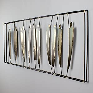Wanddeko Metall Modern Deine Wohnideen De