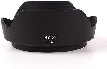 Hanumex HB-53 Bayonet Mount Lens Hood Work for Nikon AF-S Nikkor 24-120mm f/4G ED VR Lens