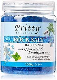 Pritty Peppermint&Euclypts Rock Salt Scrub,