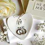 Ringschale, Brautpaar:Mr. & Mrs.