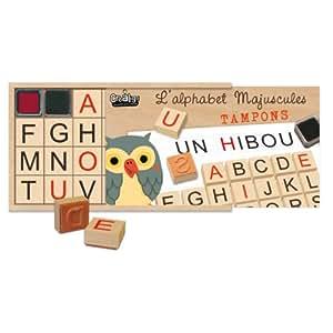 Créa Lign' - Cl80 - Tampon À Imprimer - L'alphabet Majuscule