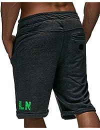 LEIF NELSON GYM Herren Fitness Short Trainingshose 07232