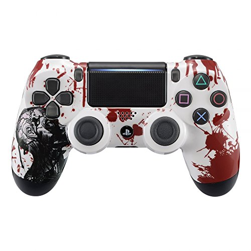eXtremeRate Playstation 4 Controller Gehäuse Schutzhülle Obere Case Hülle Cover Oberschale Skin Housing Kit Schale Shell für Playstation 4 PS4 Controller JDM-040 - Gehäuse 4 Playstation
