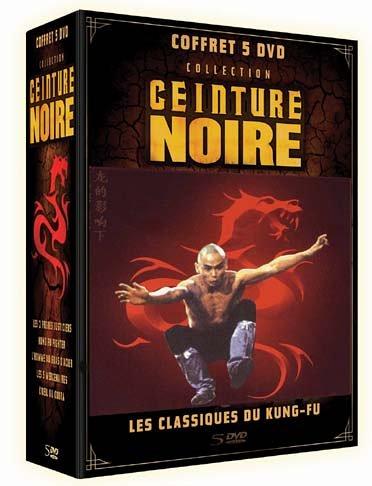 Bild von Coffret ceinture noire, les classiques du kung-fu, vol. 2 : fist of fury ; les six épreuves de la mort ; karaté king ; l [FR Import]