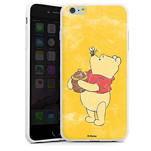 Apple iPhone X Silikon Hülle Case Schutzhülle Disney Winnie Puuh Fanartikel Geschenke Silikon Case weiß